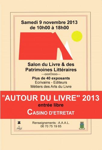 Etretat, salon du livre 2013