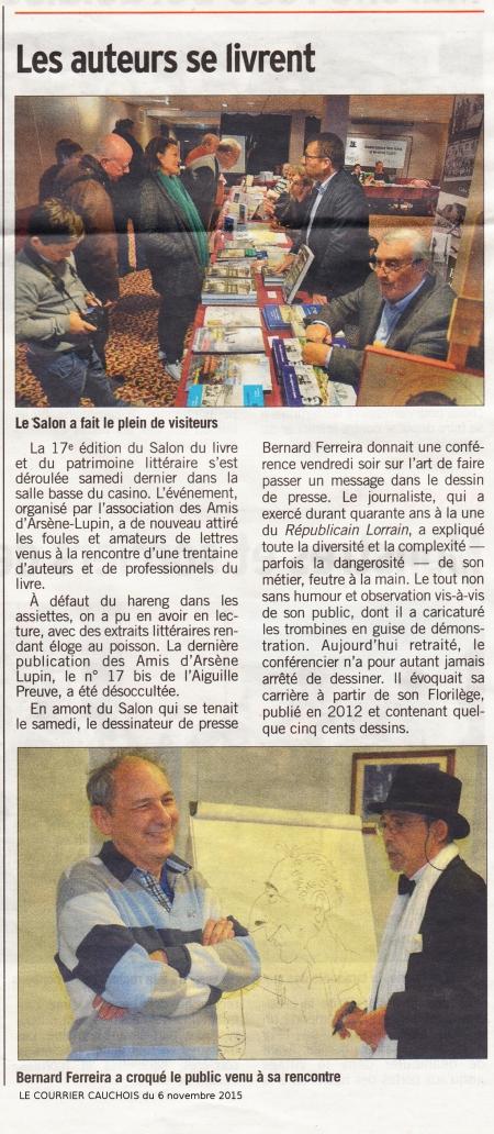 Bernard Ferreira,Salon du Livre