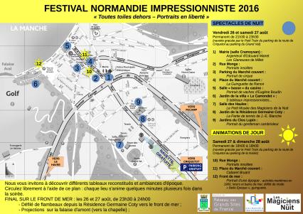 Magiciens de la Nuit,Festival Normandie Impressionniste