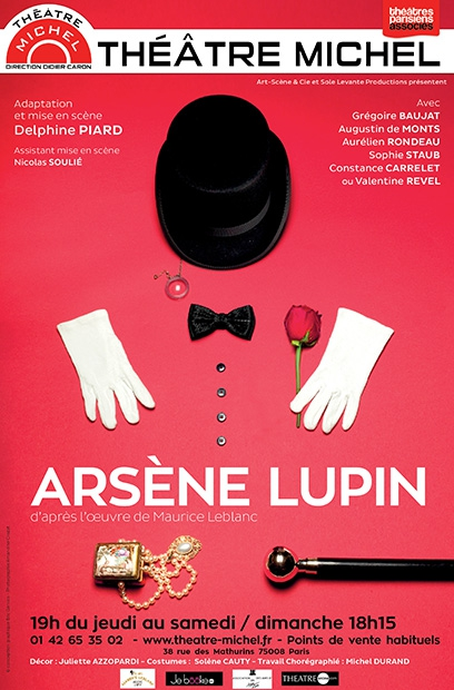 Arsène Lupin,Théâtre Miche